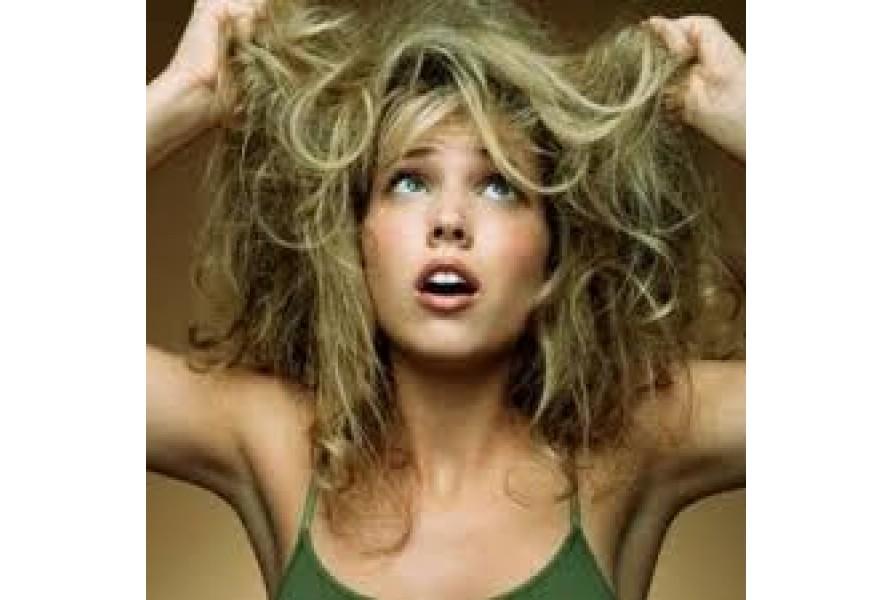 Сухие волосы: что делать?