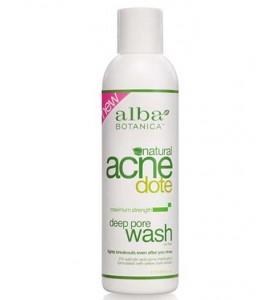 Alba Botanica ACNEdote Deep Pore Wash / Средство для глубокого очищения жирной и проблемной кожи, 177 мл