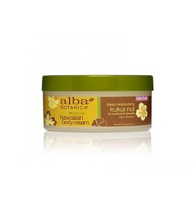 Alba Botanica Kukui Nut Body Cream / Гавайский крем для тела с орехом кукуйи, 184 гр