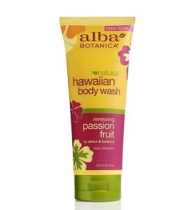 Alba Botanica Passion Fruit Body Wash / Гавайский тропический гель для душа, 207 мл