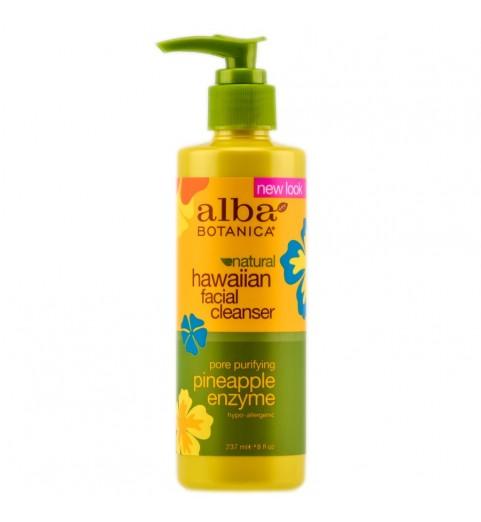 Alba Botanica Pineapple Enzyme Facial Cleanser / Гавайское очищающее средство для лица, 237 мл