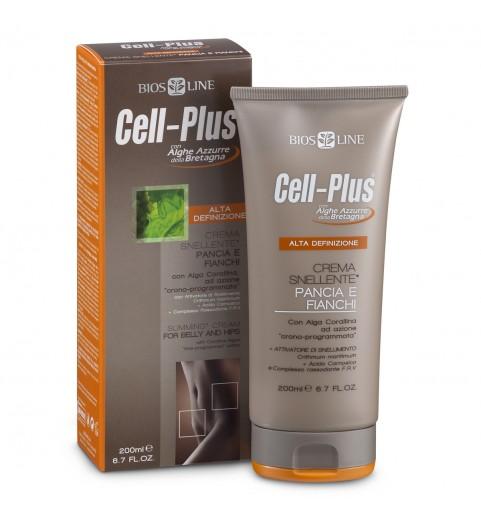 Cell-Plus Крем для похудения в области живота и бедер, 200 мл