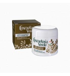 Cosmeteria Verde Crema Equilibrante Pelle Grassa 24 H / Крем Баланс 24 часа для жирной кожи, 50мл
