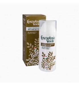 Cosmeteria Verde Crema Disarossante Anti-Age Notte / Ночной крем Anti-Age против покраснений и купероза, 50 мл