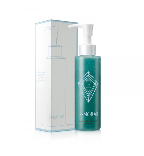 Cremorlab (Креморлаб) O2 Couture Marine Algae Cleanser / Гель для умывания с морскими водорослями, 150 мл