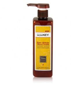 Saryna Key (Сарина Кей) Damage Repair Pure African Shea Butter Leave-in Moisturizer / Увлажняющий крем с маслом Ши для сухих и повреждённых волос, 500 мл