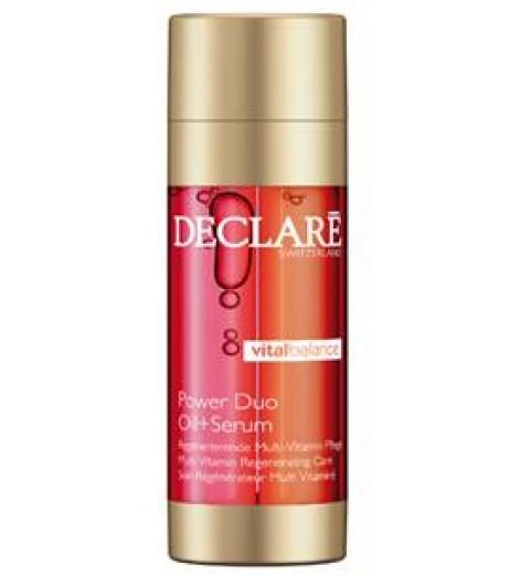 Declare (Декларе) Vital Balance Power Duo Oil + Serum / Двухфазное восстанавливающее средство Масло плюс Сыворотка,  2*20 мл