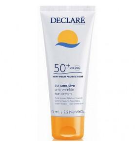 Declare (Декларе) Anti-Wrinkle Sun Cream SPF50+ / Солнцезащитный крем SPF50+ с омолаживающим действием, 75 мл