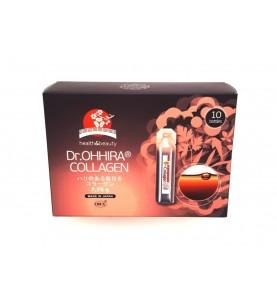 Dr.OHHIRA (Доктор Охира) OM-X Plus Collagen / Питьевой коллаген O-MX plus, 10 флаконов по 20 мл
