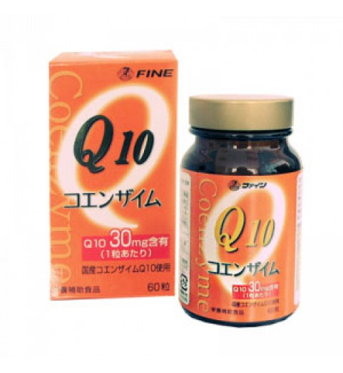 Fine Coenzyme Q 10-30 /  Коэнзим Q10-30 с витамином В1 390 мг