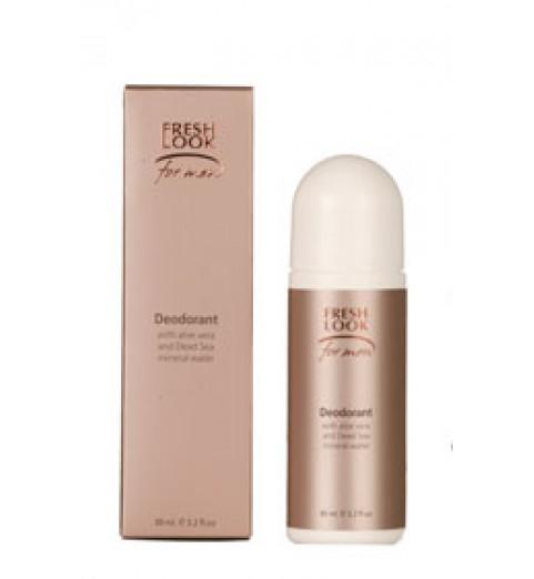 Fresh Look Deodorant for Men / Крем-дезодорант с алоэ-вера и минералами мертвого моря 100 мл.