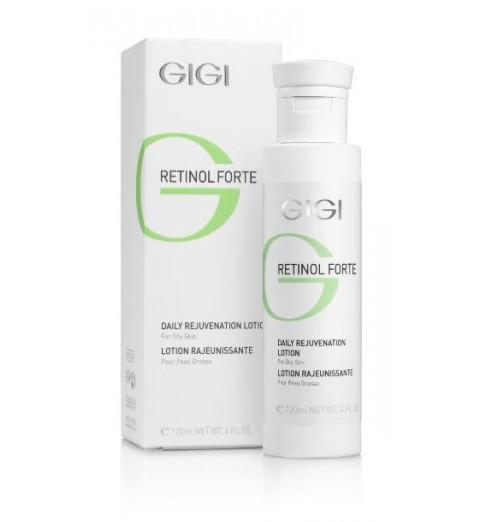 GIGI (ДжиДжи) Retinol Forte Rejuvenation Lotion for Oily Skin / Лосьон-пилинг для жирной кожи, 120 мл