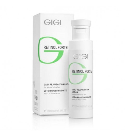 GIGI (ДжиДжи) Retinol Forte Rejuvenation dry / Лосьон-пилинг для нормальной и сухой кожи, 120 мл