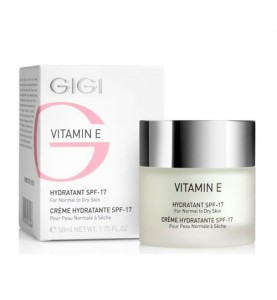 GIGI (ДжиДжи) Vitamin E Moisturizer for normal and dry skin /  Крем увлажняющий для нормальной и сухой кожи SPF 17, 50 мл