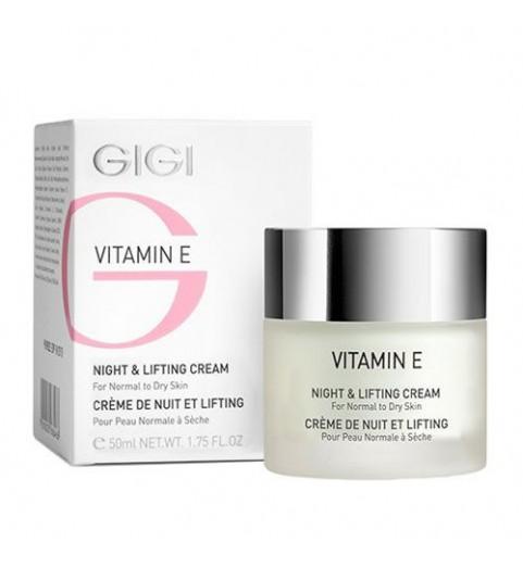 GIGI (ДжиДжи) Vitamin E Night and Lifting cream / Крем ночной лифтинговый, 50 мл