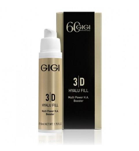 GIGI (ДжиДжи) 3D Hyalu Fill Multi Power H.A. Booster / Крем-филлер с гиалуроновой кислотой, 50 мл