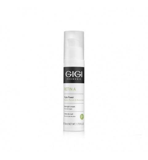 GIGI (ДжиДжи) Retin A Triple Power Overnight Cream / Крем ночной Тройная Сила, 50 мл