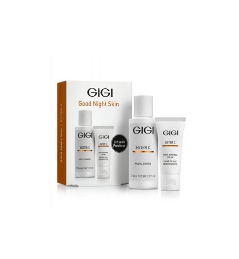 GIGI (ДжиДжи) Ester C Good Night Skin / Дорожный набор для ухода перед сном, 75 мл