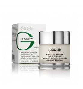 GIGI (ДжиДжи) Recovery Redness Relief Cream Sens /  Успокаивающий крем от покраснений и отечности, 50 мл