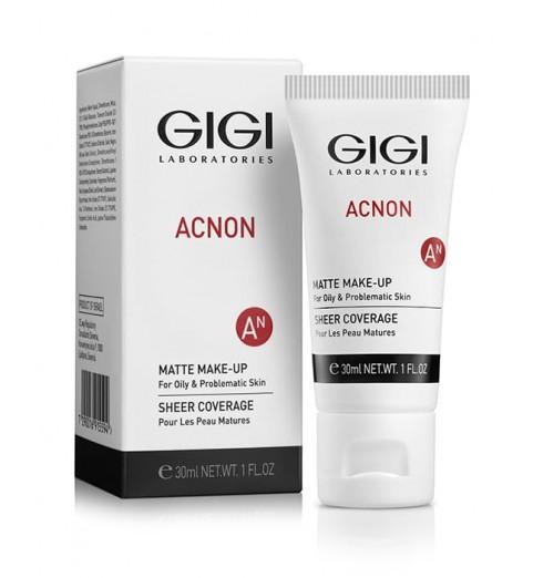 GIGI (ДжиДжи) Acnon Matte makeup / Крем-тон матирующий, 30 мл