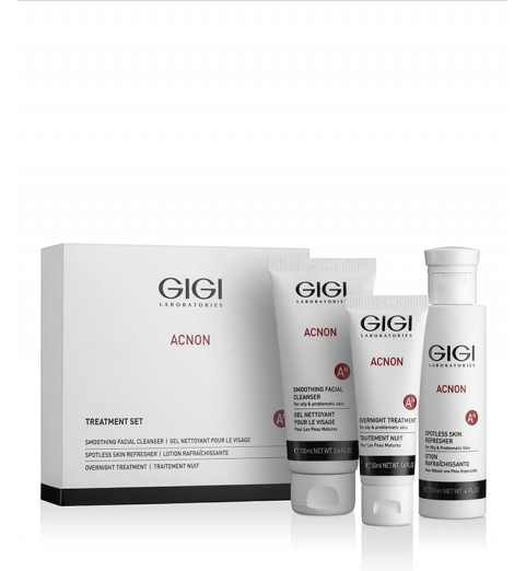 GIGI (ДжиДжи) Acnon Set / Набор для борьбы с проблемной кожей, 270 мл