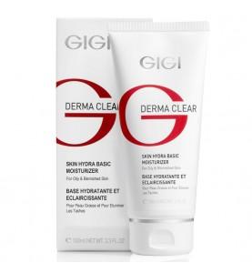 GIGI (ДжиДжи) Derma Clear Skin Hydra basic moisturiser / Крем увлажняющий успокаивающий, 100 мл