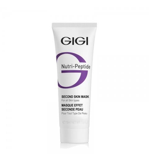 GIGI (ДжиДжи) Nutri-Peptide Second Skin Mask / Маска-пилинг черная пептидная Вторая кожа, 50 мл