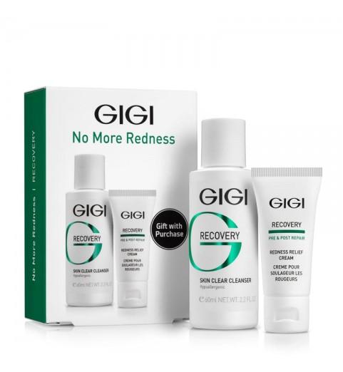 GIGI (ДжиДжи) Recovery No More Redness / Дорожный набор для чувствительной и поврежденной кожи, 75 мл
