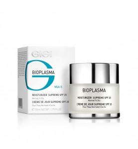 Gigi (ДжиДжи) Bioplazma Moist Supreme SPF 20 / Крем увлажняющий для нормальной и сухой кожи с SPF 20, 50 мл