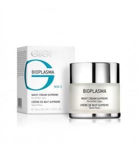 Gigi (ДжиДжи) Bioplazma Night Cream Supreme / Ночной крем энергетический Суприм, 50 мл