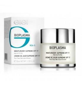 Gigi (ДжиДжи) Bioplazma Moist Supreme SPF 17 / Крем увлажняющий для жирной кожи с SPF 17, 50 мл