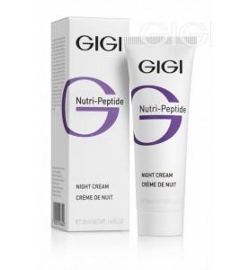 Gigi (ДжиДжи) Nutri Peptide Night Cream / Пептидный ночной крем, 50 мл