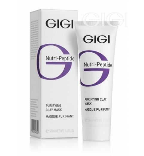 Gigi (ДжиДжи) Nutri Peptide Purifying Clay Mask Oily Skin / Очищающая глиняная маска для жирной кожи, 50 мл