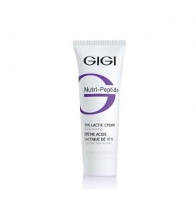 Gigi (ДжиДжи) Nutri Peptide 10% Lactic Cream / Крем пептидный увлажняющий с 10% молочной кислотой, 50 мл