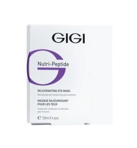 Gigi (ДжиДжи) Nutri Peptide Eye contur mask / Маска-контур пептидная для век, 4 шт. по 10 мл