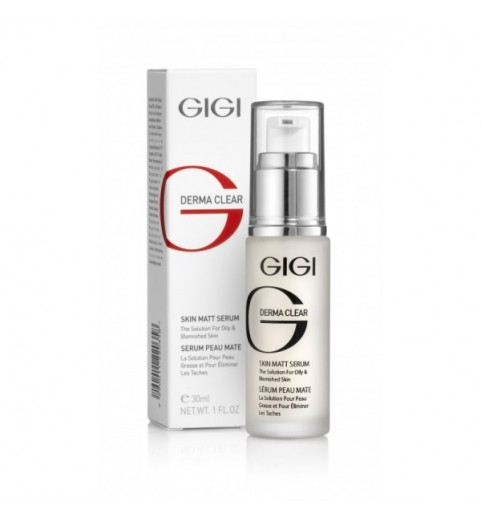 Gigi (ДжиДжи) Derma Clear Serum skin matt / Сыворотка матирующая, 30 мл