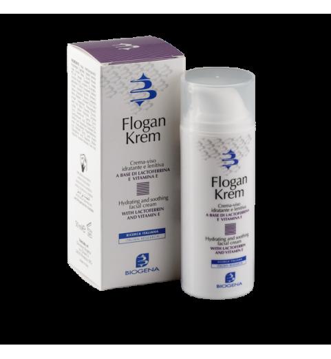 Biogena Flogan Krem / Увлажняющий и успокаивающий крем для гиперреактивной кожи, 50 мл