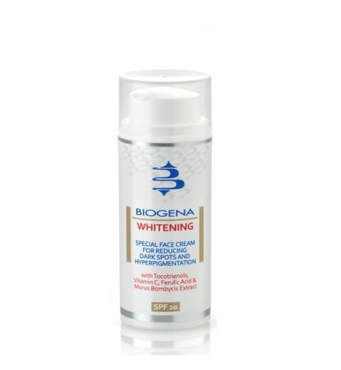 Biogena Whitening / Осветляющий крем SPF20, 50 мл