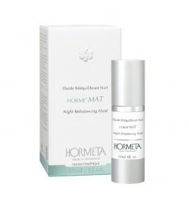Hormeta (Ормета) HormeMat Night Rebalancing Fluid / ОрмеМатирование Ночная эмульсия, восстанавливающая баланс кожи, 30 мл