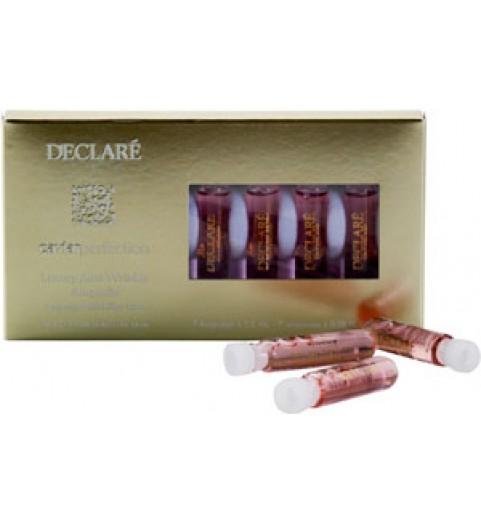 Declare (Декларе) Luxury Anti-Wrinkle Ampoule /  Ампулы – люкс против морщин с экстрактом черной икры, 7 ампул по 2 мл