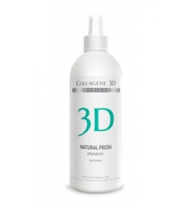 Medical Collagene 3D Fitotonic Natural Fresh / Фитотоник для лица, 500 мл