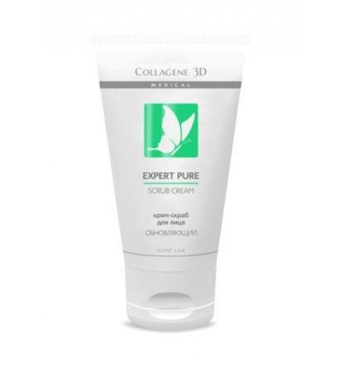 Medical Collagene 3D Expert Pure Scrub Cream / Крем-скраб для лица, 75 мл