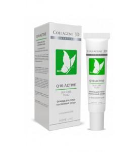 Medical Collagene 3D Q10-Active Silk Care / Флюид для лица Шелковый уход с коэнзимом Q10, 15 мл