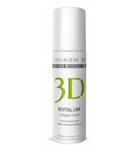Medical Collagene 3D Revital Line / Коллагеновый крем для лица, 150 мл