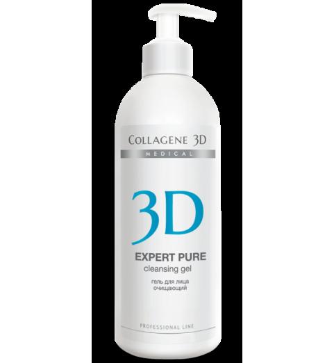 Medical Collagene 3D Expert Pure / Гель для лица очищающий, 500 мл