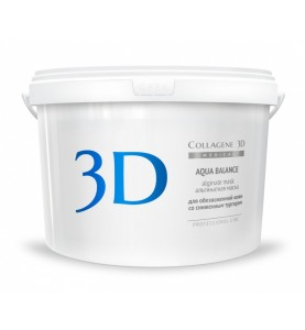 Medical Collagene 3D Alginate Aqua Balance / Альгинатная маска с гиалуроновой кислотой, 1200 гр