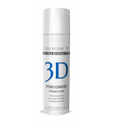 Medical Collagene 3D Hydro Comfort Cream / Крем для лица с аллантоином для раздраженной и сухой кожи, 30 мл