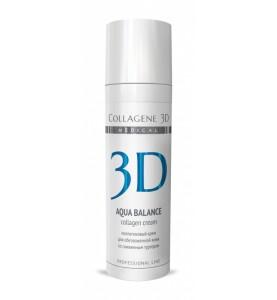 Medical Collagene 3D Aqua Balance Cream / Крем для лица с гиалуроновой кислотой, 30 мл