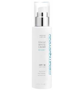 Miriam Quevedo (Мириам Кеведо) Glacial White Caviar Resort SPF30 Dry Oil For Hair and Body / Сухое масло для волос и тела SPF30 с экстрактом прозрачно-белой икры - 150 мл.