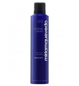 Miriam Quevedo (Мириам Кеведо) Extreme Caviar Final Touch Hairspray – Medium Hold /  Лак для волос средней фиксации с экстрактом черной икры, 300 мл
